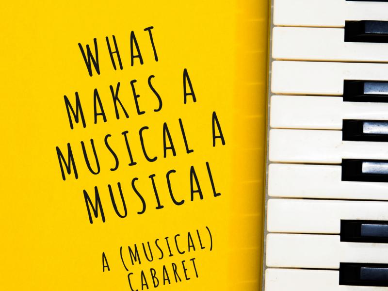 What Makes a Musical a Musical